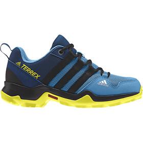 adidas TERREX AX2R Shoes Kids shock cyan/core black/shoyel